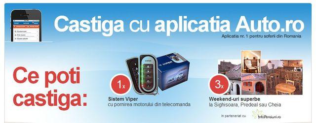 Castiga cu aplicatia Auto.ro