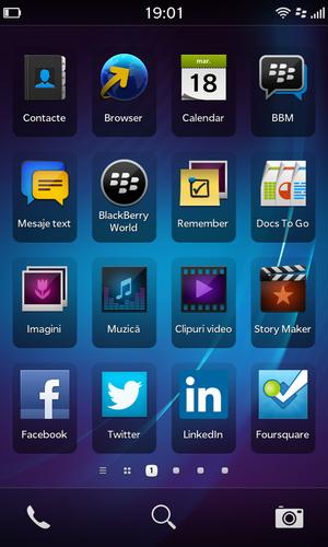 aplicatii blackberry z10