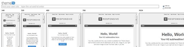 Responsive Design exemplu