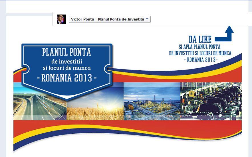 Victor Ponta facebook