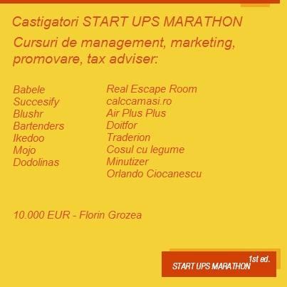 start ups marathon